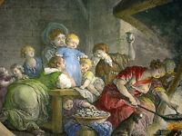 LES BAIGNETS: LES ....LA PRESIDENTE. - KUPFERSTICH 1780 v. DE LAUNAY/ FRAGONARD