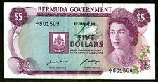 BERMUDA GOVERNMENT 1970 $5.00 & 3 1970 $1.00 ALL AU