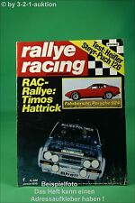 Rallye Racing 1/76 Kadett GT/E Porsche 924 BMW 528 + Poster