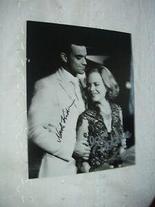 ROBBIE WILLIAMS & NICOLE KIDMAN HAND  SIGNED 10X8 PHOTO WITH C.O.A