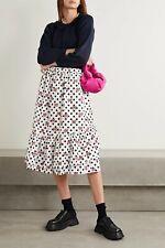 New COMME DES GARÇONS GIRL x Disney Ruffled Printed Cotton-Poplin Skirt