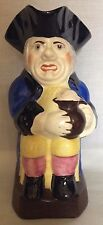 Vintage Portland Pottery Cobridge Toby Jug Gentleman with Stout