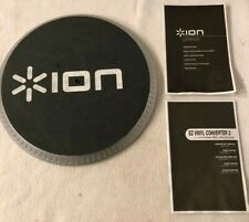 ION LP Dock Turntable Cover and Pad Only