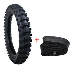 90/100-16  Rear Tire Tyre Heavy Duty+ Inner Tube MX Motorcycle Scooter Dirt Bike
