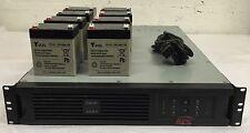 APC Smart UPS 3000 VA 230V Rackmount 2U 2.7 kW 8 x C13 1 x C19 DLA3000RMI2U
