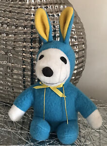 SNOOPY EASTER OUTFIT PEANUTS SOFT TOY PLUSH TOY 20CM!