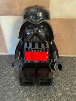 LEGO STAR WARS DARTH VADER ALARM CLOCK VERY GOOD CONDITION