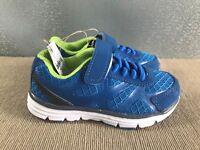 BNWT Little Boy Sz 8 Rivers Doghouse Blue  Athletic Jogger Casual Shoes