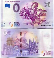 Galo de Barcelos 2019 Series 1 Portugal 0 Euro Souvenir Note