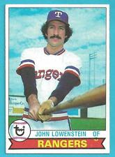 1979 Topps #173 John Lowenstein Texas Rangers