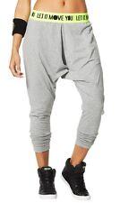 ZUMBA You Glow Girl Harem Pants Gray XX-Large