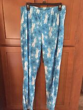 NEW!NEVER WORN! A PAIR Of MEN'S FROZEN Pajamas. Size Large. Top & Fleece Bottoms