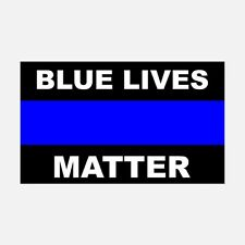 Blue Lives Matter  Sticker Decal