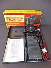 Radio Shack 40-Channel Road Emergency 2-Way CB Radio & Antenna Citizens Band IOB