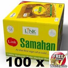 100 SAMAHAN Ayurveda té de hierbas bebida natural remedio para la tos & Frío