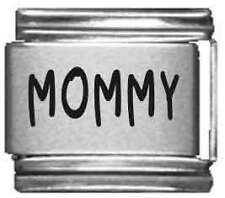 Clearly Charming Mommy Laser Italian Charm