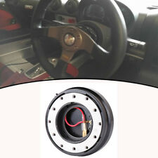 Black Snap off Quick Release Removable Steering Sheel Hub Boss Adapter Tool