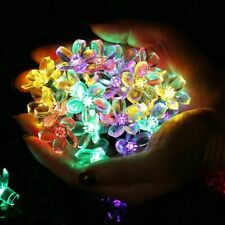 LED Fairy Lighting String Solar Outdoor Home Christmas Garden Wedding Decoration