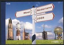 Nederland Prestige Prestigeboekje PR 20 Mooi Nederland 2008 Postfris