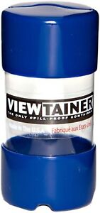 "Viewtainer Slit Top Storage Container 2""X4""-Blue"