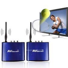 Wireless 5.8GHz Audio Video AV RCA Transmitter Receiver Remote DVD DVR IPTV STB