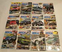 Classic American Car Magazine 2011 Complete Set Full Year Issue 237-248 Calendar