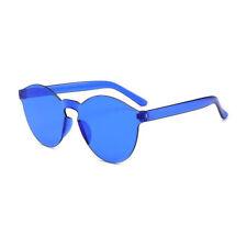 Women Cat Eye Transparent Candy Sunglasses Sun Shades Men Luxury 16 Colors New