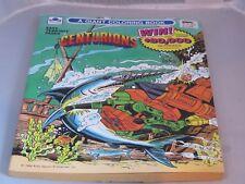 GOLDEN CENTURIONS Big COLORING BOOK 1986 unused