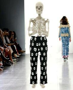 Croft & Barrow Men's Microfleece SKULL Lounge Pajama Pants - LARGE New w/ Tags