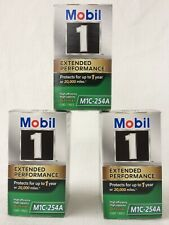 Mobil 1 M1C-254A Lot Of 3 Oil Filters Extended Performance High Efficiency