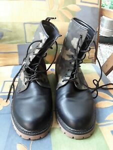 Herren Boots 45 in Military Style