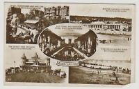 Somerset postcard - Weston Super Mare (Multiview showing 5 views) - RP