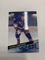 2020-21 Upper Deck Series 1 Young Guns Rookie Alexis Lafreniere New York Rangers