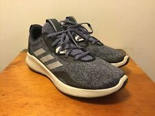 Adidas Women's Pure Bounce+ Black Gray Running Shoes Size 9.5