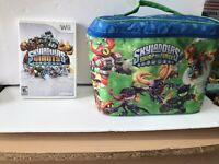 Skylanders Bundle: Swap Force Carry Case, Giants For Wii, And 15 Misc Figures