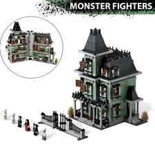 Monster Fighters Haunted House Full Set 2064 PCS 10228 City Market👻Complete Set