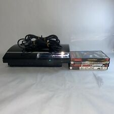 Sony PlayStation PS3 Fat 60GB Backwards PS2 Compatible CECHA01 Tested