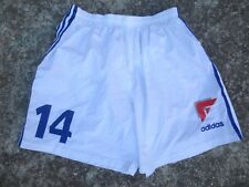 Short AJA AUXERRE porté n°14 ADIDAS vintage 1996 1997 football collection 46 L