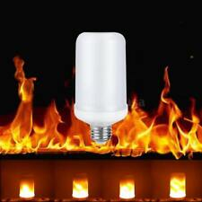 5W 99LED E27 360°Flame Flickering Effect Fire Light Bulb Decorative Holiday Lamp
