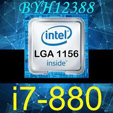 Intel Core i7-880 3.06GHz LGA1156 SLBPS 8M Cache 4-Core Processor CPU Tested