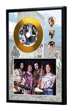 The Who Gold Look CD, Autograph & Plectrum Display - Daltrey/Moon/Townshend
