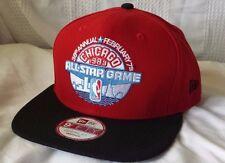 CHICAGO 1988 NBA ALL-STAR GAME New Era snapback hat (BULLS Jordan MVP) RARE CAP