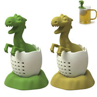 Silicone Dinosaur Tea Bag Tea Filter Strainer Loose Tea Strainer Coffee Spice