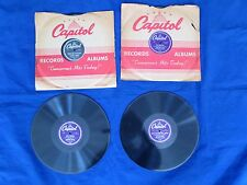 LOT OF 4 MARGARET WHITING 78 rpm RECORDS-CAPTIAL RECORDS