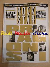rivista ROCKSTAR 12/2002 Kurt Cobain Bugo Ligabue Santana Audioslave Pelu' *Nocd