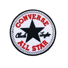 Converse All Star logo Jacket Hat T T-Shirt Iron on Patches Size 3x3 inches