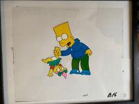 Authentic Simpsons Original Production Animation Cel