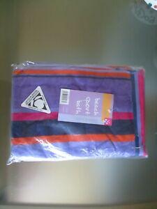 BNIP RIO 100% Egyptian Cotton Purple Orange Beach Sport Bath Towel
