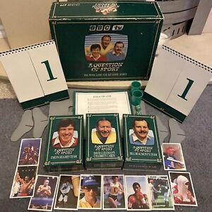 A Question Of Sport Board Game 1986 - Good Condition - Inc Senna Card NO TYSON