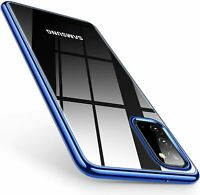 Handy Hülle für Samsung Note 10 20 Plus Ultra Case Transparent Schutzhülle Glas